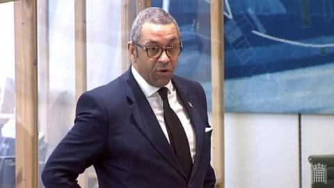 James Cleverly speaking in a Westminster Hall debate held in Portcullis House